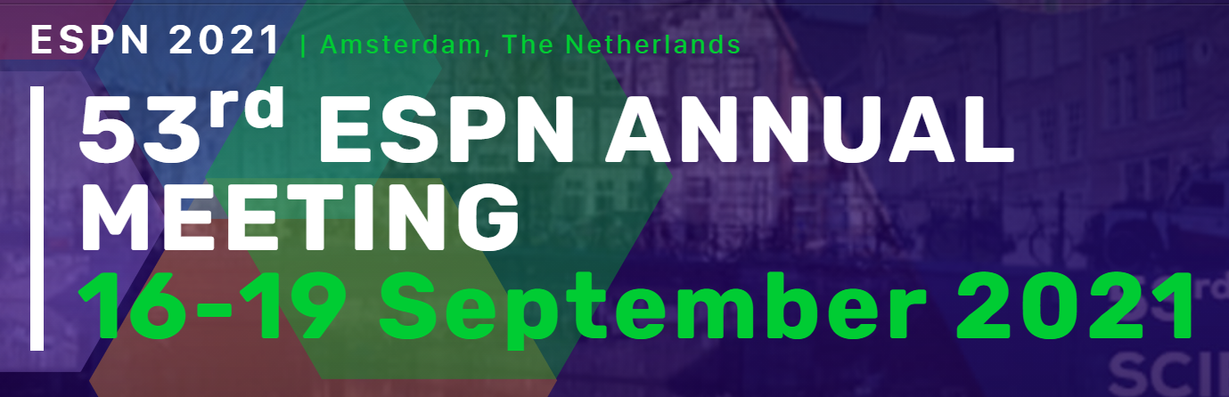53rd ESPN annual meeting 16-19 settembre 2021